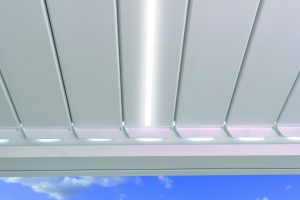 Nos options Outdoor Living : louvres LED