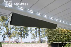 Nos options Outdoor Living : Chauffage
