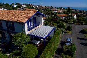 Maison avec pergola par Ehia à Saint Jean de Luz